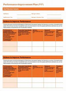 free 11 sle performance improvement plan templates in pdf ms word