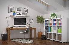 3d rendering modern workplace home office stock