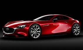 Mazdas RX Concept Rendered As A Production 7
