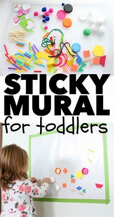 crafts actvities and worksheets for preschool toddler and kindergarten sticky mural for toddlers infant activities preschool