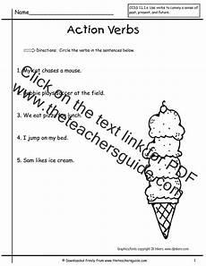 verb worksheets printable 19098 wonders grade unit three week one printouts