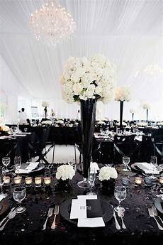 wedding inspiration tablescapes centerpieces chair inspiration black white wedding theme