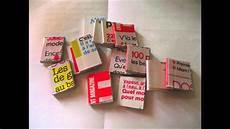 tuto comment fabriquer des livres miniatures