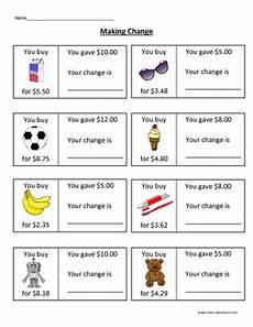 money worksheets counting back change 2082 change worksheet change worksheets money math teaching money