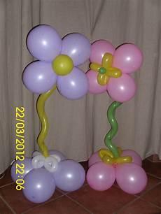 sculture di palloncini fiore la sirenetta alestimenti e composizioni varie