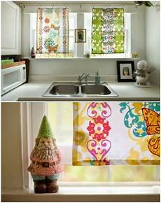 Kitchen Curtains Diy by 20 And Easy Diy Curtain Ideas To Dress Up Your
