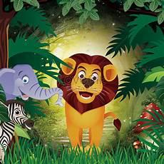 32 Gambar Di Hutan Versi Kartun Gambar Kartun Mu