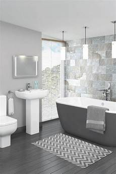 Bathroom Ideas Grey Tile by This Beautiful Grey Bathroom Design Is Complemented