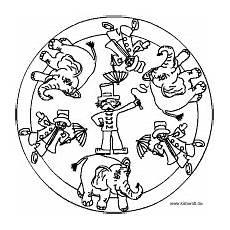 Malvorlagen Mandala Zirkus Zirkus Mandala Kindergeburtstag Zirkusparty