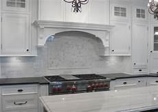 Carrara Marble Kitchen Backsplash White Marble Backsplash Marble Tile Backsplash