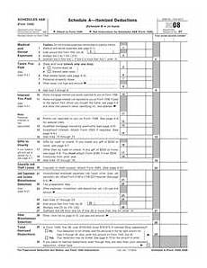 form 1040 schedules a b itemized deductions interest and dividen