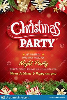 merry christmas party and greeting card background invitation theme concept happy