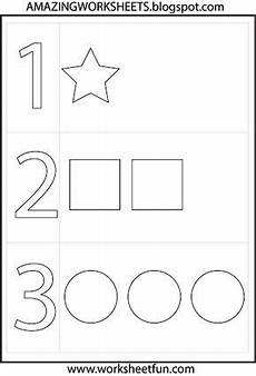 preschool numbers and shapes teach preschool worksheets numbers preschool preschool learning