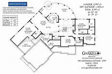 nantahala house plan nantahala cottage 17074 2797 garrell associates inc