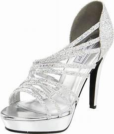 Cheap Silver Heels For Weddings