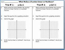 linear functions and nonlinear functions discovery lab by idea galaxy