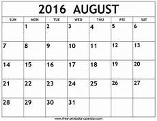 August 2016 Calendar June Calendar Printable Calendar