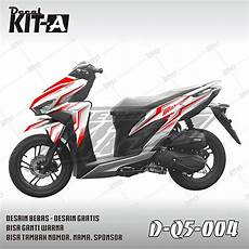 Variasi Motor Vario 150 by Jual Decal Stiker New Vario 150 Facelift 2018 Dekal