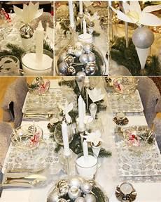 tischdeko weihnachten weiß weihnachten ideen bilder19