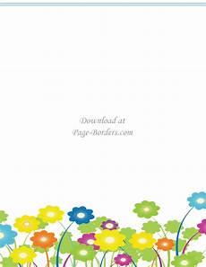 Flower Border Clipart