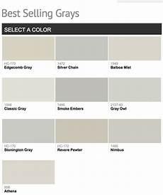 best selling benjamin paint colors grey paint