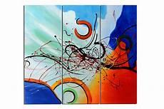 triptyque peinture moderne inspirations avec tableaux