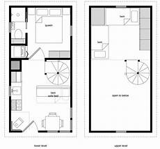12x24 tiny house plans 12 215 24 twostory 10
