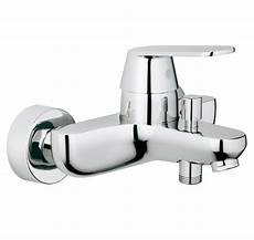 grohe eurosmart cosmo wall mounted bath shower mixer tap