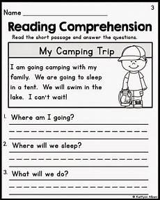 kindergarten reading comprehension worksheets multiple choice coloring books reading