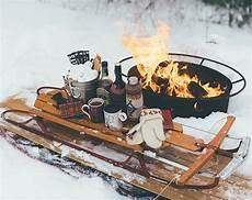 winterparty im garten sleigh date urlaub im schnee winter winter