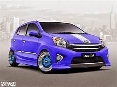 Modifikasi Toyota Agya 50 gambar modifikasi toyota agya keren