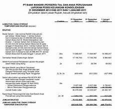 contoh laporan keuangan perusahaan jasa terbaru newhairstylesformen2014 com