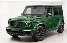 topcar design zeigt modifizierte g klasse mit viel carbon