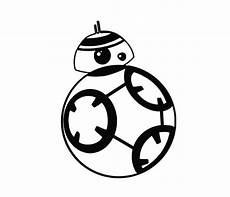 star wars bb8 svg png dxf silhouette vector file etsy