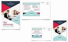 post card template publisher tax preparer postcard template word publisher