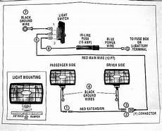 wiring auxiliary lights medium duty work truck info