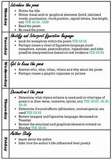 poetry lesson plans for high school 25409 lesson planning classroom ideas mrsmandysager
