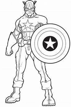 Bilder Zum Ausmalen Captain America Captain Amerika Ausmalbilder Ausmalbilder F 252 R Kinder