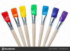 colorful paint brushes with the colors of the rainbow simple is 169 mvancaspel