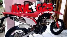 Honda Modif by Modif Honda Crf 150 L Supermoto Dengan Biaya Muraaah