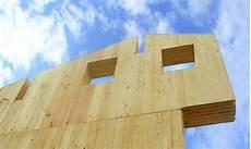 Mauer Aus Holz - massiv holz mauer die massiv holz mauer