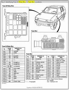 1996 Isuzu Trooper Parts Automoriz