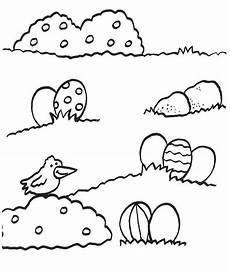 Ostereier Malvorlagen Quiz Kostenlose Malvorlage Ostern Ostereier Auf Der Wiese Zum
