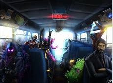 Drawing Of Fortnite Bus   YouTube