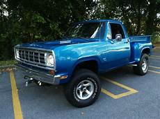 1972 dodge power wagon adventurer 4x4 rare classic