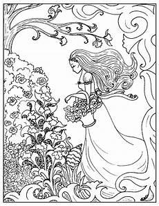 nouveau coloring page flower id 73840