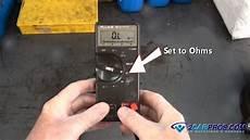 car repair world fuel injector test