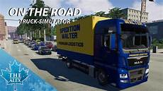 on the road truck simulator look
