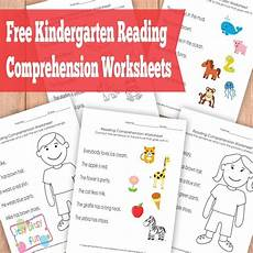 kindergarten reading comprehension worksheets itsy bitsy fun