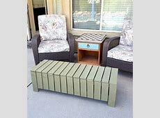 Ana White   Outdoor Storage Bench/ Coffee Table   DIY Projects